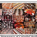 A Menagerie Of Colorful Quilts -  Autumn Colors - Quilter by Barbara Griffin