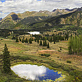 A Mountain Drive In Colorado  by Mike McGlothlen