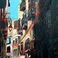 A Narrow Street by Uma Krishnamoorthy