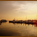 A New Day Beings On The Water - Atlantic Highlands  - Nj by Mother Nature