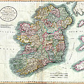 A New Map Of Ireland 1799 by Bill Cannon