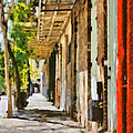 A New Orleans Alley by Christine Till