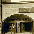 A Nickelodean Theater by Underwood Archives