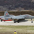 A Northrop F-5e Tiger Of The Swiss Air by Luca Nicolotti