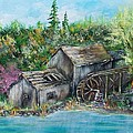 A Old Mill by Walter Carrick
