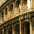 A Painting The Colosseum by Mike Nellums
