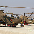 A Pair Of Ah-1s Tzefa Attack by Ofer Zidon