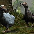 A Pair Of Dodos by Daniel Eskridge