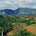A Panoramic View Of The Valle De by Panoramic Images