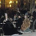 A Parisian Cafe by Ilya Efimovich Repin