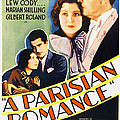 A Parisian Romance, Us Poster Art by Everett