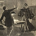 A Parisien Drama, Illustration From Le by French School