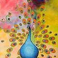 A Peculiar Peacock by Thomas Gronowski