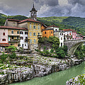 A Picturesque Village by Uri Baruch