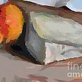 A Piece Of Goat Cheese by Dragica  Micki Fortuna