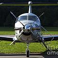 A Pilatus Pc-12 Private Jet by Luca Nicolotti