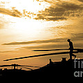A Pilot Conducts A Pre-flight by Stocktrek Images