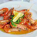A Plate Of Shrimp by Evan Peller