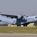A Polish Air Force C-295m Taking by Daniele Faccioli