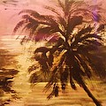 A Popular Tropical Scene by Marie Bulger
