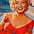 A Portrait Of Marilyn by Florian Rodarte