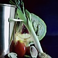 A Pot With Assorted Vegetables by Fotiades