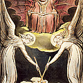 A Priest On Christ's Throne by William Blake