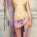 A Priestess by John Williams Godward