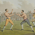 A Prize Fight Aquatinted By I Clark by Henry Thomas Alken