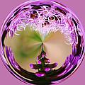 A Purple Design by Cynthia Guinn