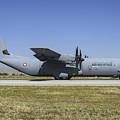 A Qatar Emiri Air Force C-130j-30 by Daniele Faccioli