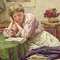 A Quiet Read by Walter Langley