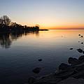 A Quiet Sunrise - Toronto Lake Ontario by Georgia Mizuleva