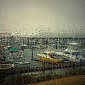 A Rainy Evening On The Port by Joyce Dickens