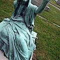 A Raised Hand -- Thomas Trueman Gaff Memorial -- 2 by Cora Wandel