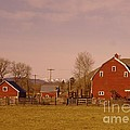 A Red Barn  by Jeff Swan