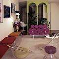 A Retro Living Room by Tom Leonard