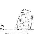 A Road Sign Saying Truth Points To The Right by Charles Barsotti