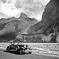 A Roadster In The Rockies by Underwood Archives