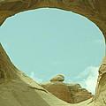 Rock Inside The Window by Jeff Swan