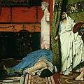 A Roman Emperor   Claudius by Sir Lawrence Alma Tadema