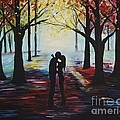 A Romantic Kiss by Leslie Allen