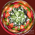 A Round Of Fresh Fruit Salad by Anne Gilbert