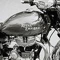 A Royal Enfield Motorbike by Shaun Higson