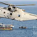 A Royal Navy Merlin Helicopter  by Paul Fearn