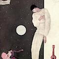 A Sad Reveler by Georges Lepape