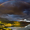 A Scottish Highland Rainbow Kylesku by John Farnan