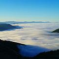 A Sea Of Fog  by Jeff Swan