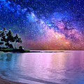 A Sea Of Stars At Poipu by Dominic Piperata