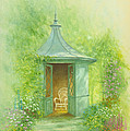 A Seat In The Summerhouse by Garry Walton